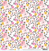 Bloom Paper - Bella Rouge - Pink Paislee