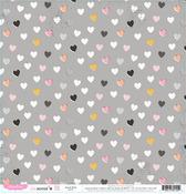Heartfelt Paper - Bella Rouge - Pink Paislee