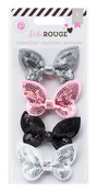 Bella Rouge Sequin Butterflies - Pink Paislee