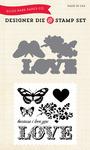Because I Love Die & Stamp Set - Echo Park