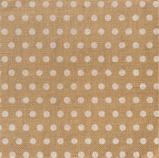 White Dot On Burlap Sheet - DIY Shop 2 - American Crafts