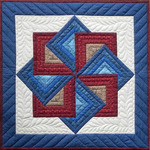 """22""""X22"""" - Starspin Wall Quilt Kit"""