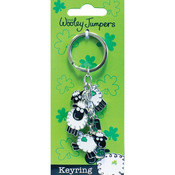 Woolley Jumper Charm Key Ring