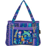 """Mythical Dogs - Medium Tote 15""""X11"""""""