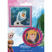 Olaf & Kristoff - Disney Frozen Iron-On Appliques 2/Pkg