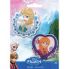 Elsa & Anna - Disney Frozen Iron-On Appliques 2/Pkg Wrights-Disney Frozen Iron On Appliques: Elsa & Anna. A fun addition to any outfit, pillow and more! This 5-1/2x4 inch package contains two iron-on appliques. Imported.