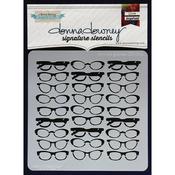 Donna's Glasses - Donna Downey Signature Stencils