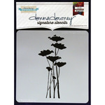 Poppy Forest - Donna Downey Signature Stencils