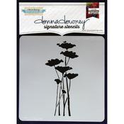 Poppy Forest - Donna Downey Signature Stencils