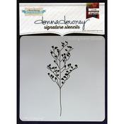 Budding Branch - Donna Downey Signature Stencils