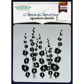 Poppy Stems - Donna Downey Signature Stencils