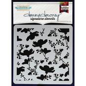 Garden Table - Donna Downey Signature Stencils