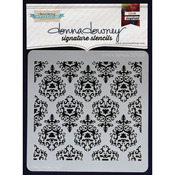 Donna Damask - Donna Downey Signature Stencils