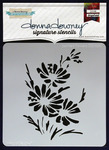 Painted Flowers - Donna Downey Signature Stencils