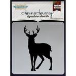 Deer In Headlight - Donna Downey Signature Stencils