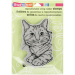 Feline Fun - Stampendous Cling Rubber Stamp