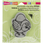 Egg Cup Cling Rubber Stamp - Stampendous