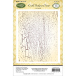 Crackle - JustRite Papercraft Cling Background Stamp