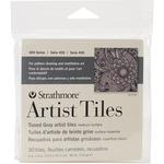 """Toned Gray - Strathmore Tiles 4""""X4"""" 30/Pkg"""