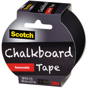 "Black - Scotch (TM) Chalkboard Tape 1.88""X5yd"