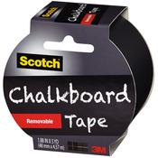 "Black - Scotch (TM) Chalkboard Tape 1.88""X5yd"