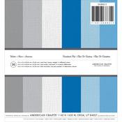"Winter Solids - American Crafts Cardstock Pad 6""X6"" 36/Pkg"
