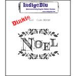 Noel - Dinkie - IndigoBlu Cling Mounted Stamp