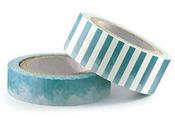 Denim Watercolor Washi Tape - We R Memory Keepers
