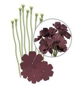 Brown Crepe Paper Flower Kit - We R Memory Keepers