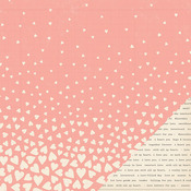 Falling For You Paper - Kiss Kiss - Crate Paper