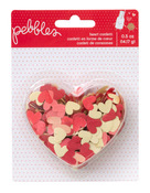 Heart Confetti - We Go Together - Pebbles
