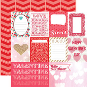 Journaling Cards Paper - Lucky In Love - Echo Park