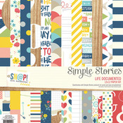 Life Documented Paper Kit - Simple Stories