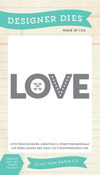 Love Confetti Die Set - Echo Park