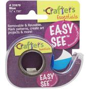 Blue Easy See Removable Craft Tape - Lee Products