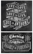 Live To Love Chalk Talk Stickers - Mrs. Grossman's