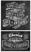 Live To Love Chalk Talk Stickers - Mrs. Grossman's