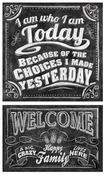 I Am Who I Am Chalk Talk Stickers - Mrs. Grossman's