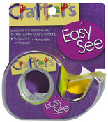 Yellow Easy See Removable Craft Tape - Lee Products