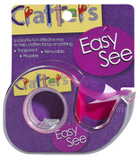 Pink Easy See Removable Craft Tape - Lee Products
