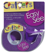 Purple Easy See Removable Craft Tape - Lee Products