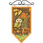 "5""X8"" 14 Count - Debbie Mumm Fall Banner Counted Cross Stitch Kit"