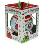 Wacky Woolies Christmas Ornament-
