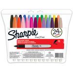 Write Colors - Sharpie Fine Point Permanent Markers 24/Pkg