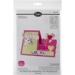 Hearts Step - Up Card - Sizzix Framelits Dies