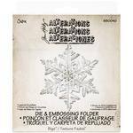 Layered Snowflake - Sizzix Bigz Die W/A2 Texture Fades Folder By Tim Holtz