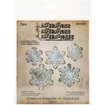 Paper Snowflakes - Sizzix Thinlits Dies 5/Pkg By Tim Holtz