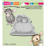 Easter Egg Nap - Stampendous House Mouse Cling Rubber Stamp