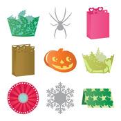 Seasonal Soriees By Anna Griffin - Cricut Mini Seasonal Shape Cartridge