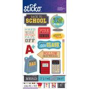 School - Sticko Flip Pack